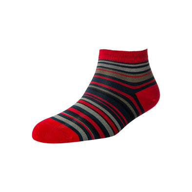 Men's Stripe Ankle Socks