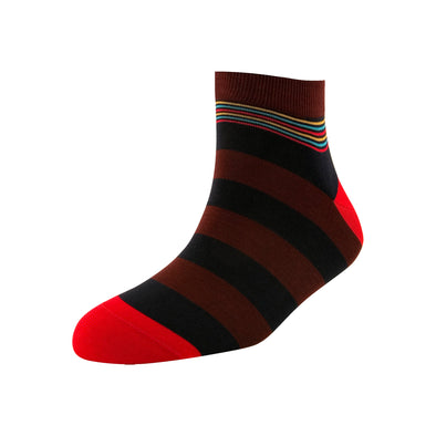 Men's Broad Stripe Ankle Socks