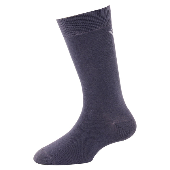 Men's YW-M1-308 Solid Crew Socks