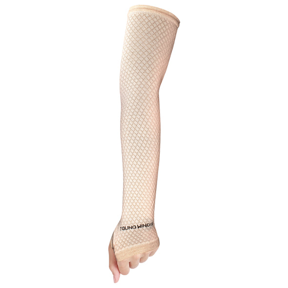 Antibacterial Square Fashion Arm Protectors for Women (UPF 50+)