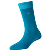 Women's Super Fine 4x1 RIB Monogram Socks