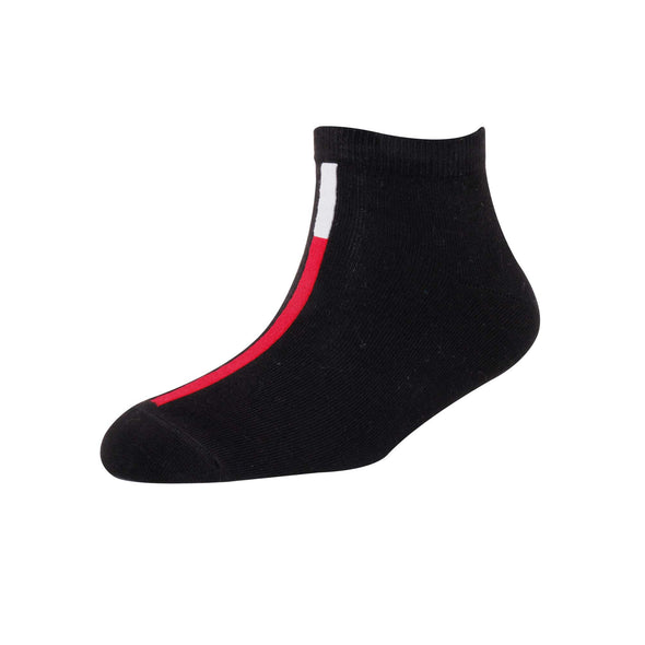 Men's YW-M1-231 Fashion Verticle Line Ankle Socks