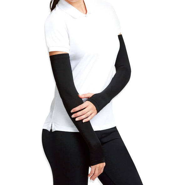 Antibacterial Arm Protectors for Women ( Pack of 1 - Pair, UPF 50+)