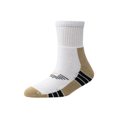 Men's YW-M1-256 Terry Sole Stripe Ankle Socks