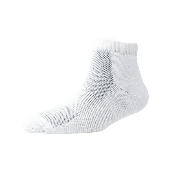 Men's YW-M1-221 Terry Low Cut Mesh Ankle Socks