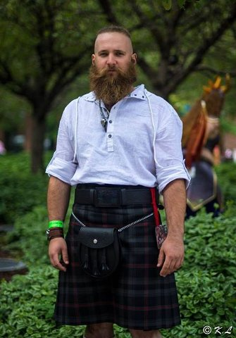 Putting on your Kilt