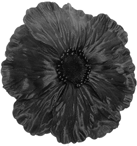 Black Poppy For Black, African And Carribean Memorial