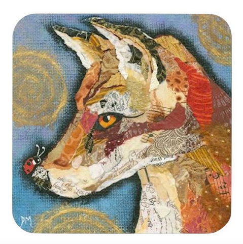 Dawn Maciocia 'Hi Jack' Lovely Fox & Ladybird Coaster Table Mat