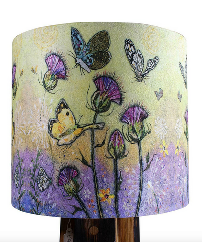Dawn Maciocia 'Flutterbies' Beautiful Butterfly Soft Lamp Light Shade