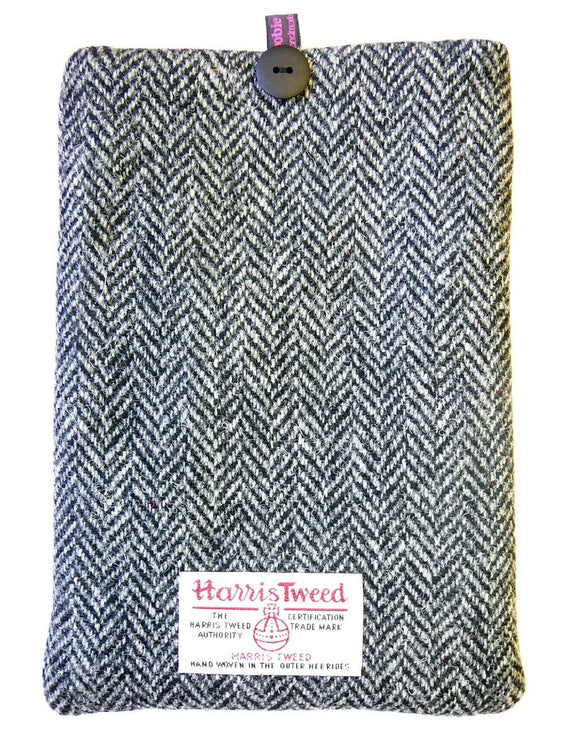 Loobie & Boo Designer Herringbone Harris Tweed iPad Tablet Cover