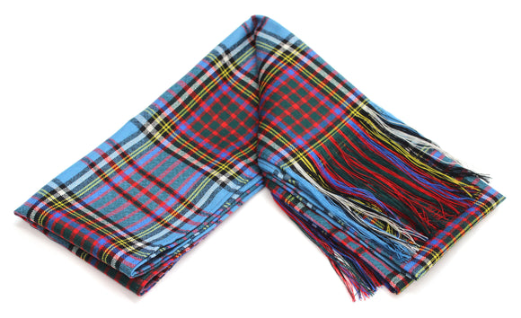 Traditional Anderson Tartan 100% Wool Full Sash - Made In Scotland