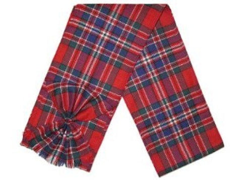 Scottish 100% Wool Tartan Ladies Mini Sash with Rosette - MacFarlane