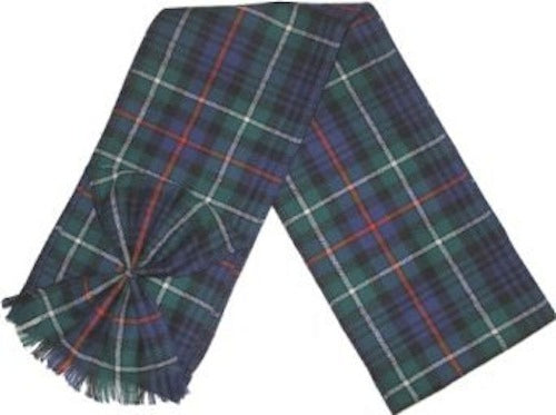 Scottish 100% Wool Tartan Ladies Mini Sash with Rosette - MacKenzie
