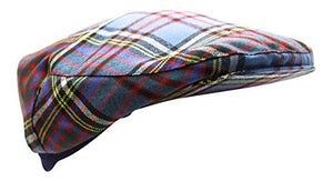 Authentic Anderson Tartan Golf Cap - Made In Scotland