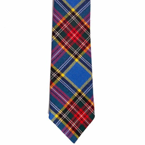 100% Wool Traditional Scottish Tartan Neck Tie - MacBeth