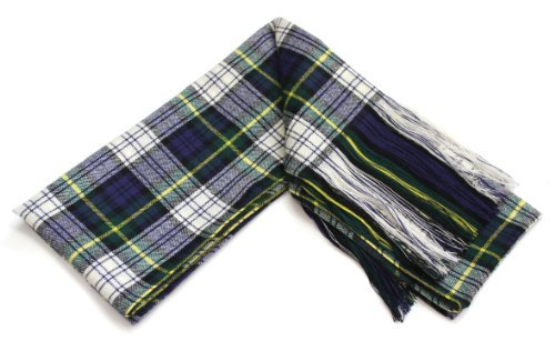 Traditional Dress Gordon Tartan 100% Wool Full Sash - Made In Scotland