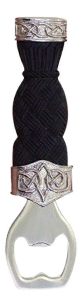 Fabulous Dress Sgian Brew with Basket Weave Effect Handle and Celtic Knot Detail