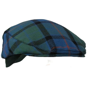 Authentic Flower of Scotland 100% Scottish Tartan Golf Cap - One Size Fits All