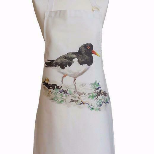 Orkney Storehouse Oyster Catcher Cotton Apron Pinny