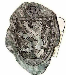 Scottish Lion Rampant Wall Plaque, Sign, Picture - Indoor Outdoor Use.