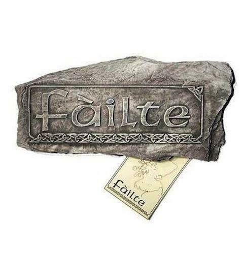 Fàilte Scottish Wall Plaque, Sign, Picture - Scotlands Traditional Welcome