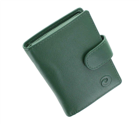 Origin Compact Credit Card Holder Purse Wallet Mala Leather RFID Protected