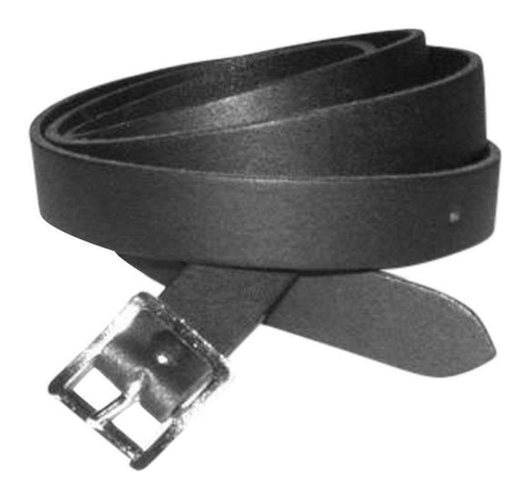 Lose the Chain - 100 % Leather Sporran Strap - Black  - All Sizes