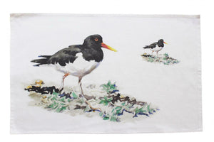 Orkney Storehouse Oyster Catcher Kitchen Tea Towel