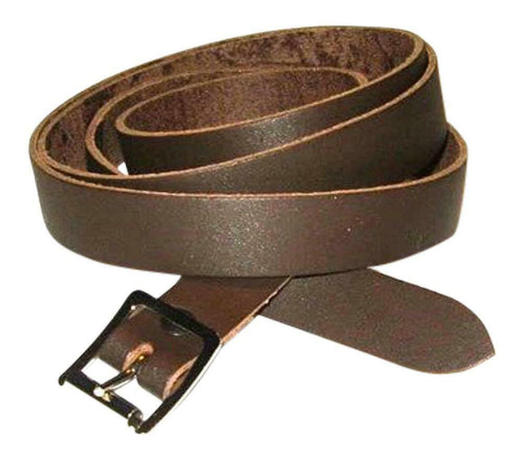 Lose the Chain - 100 % Leather Sporran Strap Brown - All Sizes