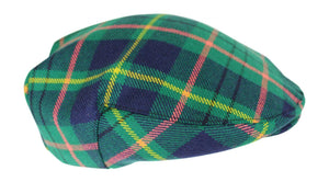 100% Regimental Heavy Weight Scottish Tartan Wool Flat Cap - Taylor Ancient