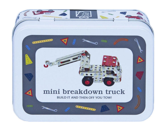 Apples To Pears Gift In A Tin Mini Break Down Truck Construction Set