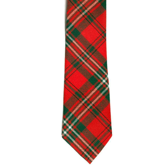 100% New Wool Traditional Tartan Neck Tie - Scott Modern