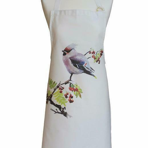 Orkney Storehouse Waxwing Cotton Apron Pinny