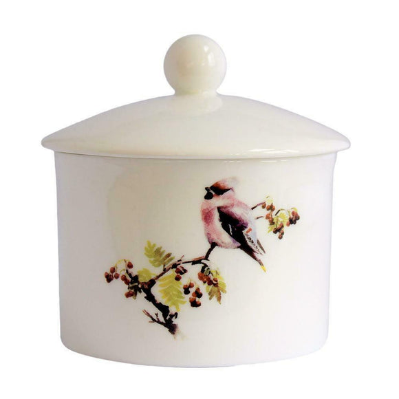 Orkney Storehouse Fine Bone China Waxwing Sugar Pot Dish