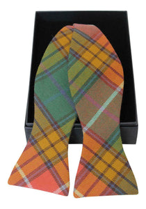 Luxury Buchanan Ancient Tartan Gentleman's Classic Adjustable Self Tie Bow Tie