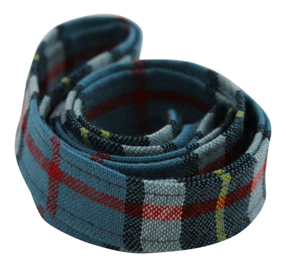 100 % Pure Wool Traditional Tartan Ribbon - 1 Inch x 54 Inches - Anderson
