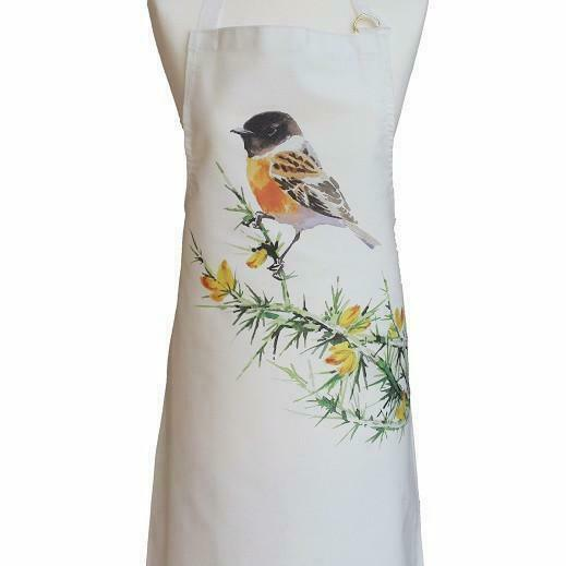 Orkney Storehouse Stonechat Cotton Apron Pinny