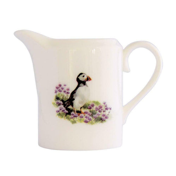 Orkney Storehouse Fine Bone China Puffin Creamer Cream Milk Jug