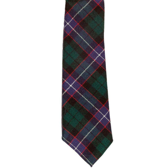 100% New Wool Traditional Scottish Tartan Neck Tie - Galbraith Modern