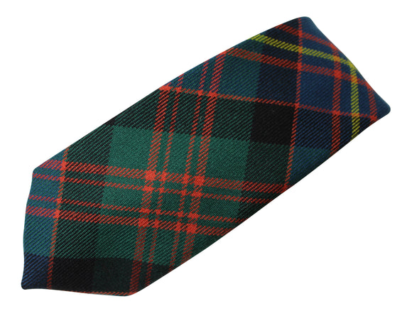100% Wool Traditional Scottish Tartan Neck Tie - Cameron Of Erracht Ancient