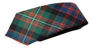 100% Wool Authentic Traditional Scottish Tartan Neck Tie - MacDonnell Of Glengarry Ancient