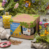 Kabloom Guerrilla Gardening Birds, Bees & Butterflies Seedbom 4 Pack Gift Set