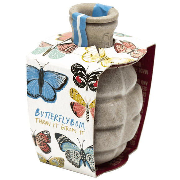 Kabloom Guerrilla Gardening Seed Bomb Bee Butterfly bom, Save Bees & Butterflies