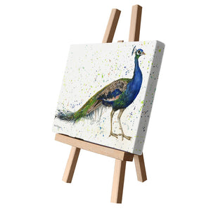 Bree Merryn Fine Art 'Peaky Blinder' Peacock Bird Farm Animal Canvas