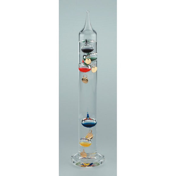 Nauticalia 28cm 5 Multi Colour Globe Galileo Thermometer