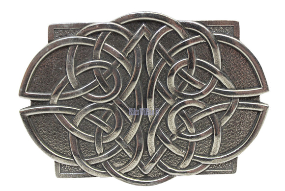 Gaelic Themes Celtic Lace Knot Kilt Belt Buckle