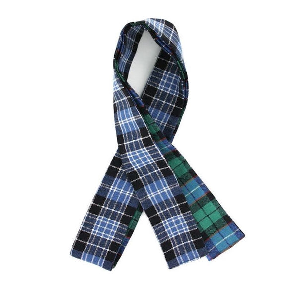100% Wool Traditional Scottish Handfasting Ribbon - MacP MacQ  Tartans