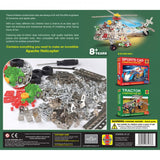 Classic Haynes Apache Helecopter Aviation 349  Piece Stainless Steel Construction Set