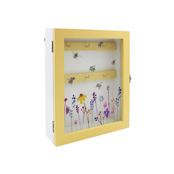 Busy Bumble Bee Key Cabinet Box