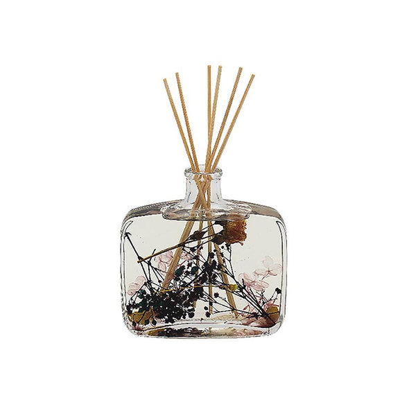 Hand Poured Large Real Flower Pomegranate Noir Boutique Reed Diffuser